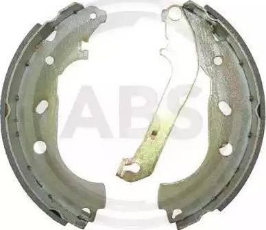 A.B.S. 9160 - Bremžu komplekts, trumuļa bremzes interparts.lv