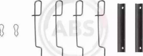 A.B.S. 0992Q - Piederumu komplekts, Disku bremžu uzlikas interparts.lv