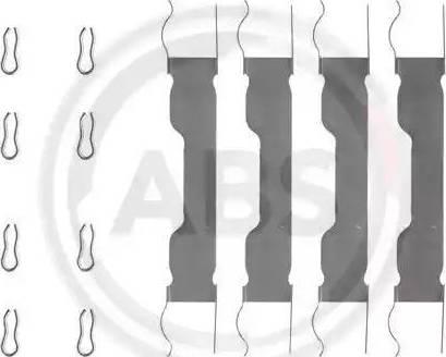 A.B.S. 0909Q - Piederumu komplekts, Disku bremžu uzlikas interparts.lv