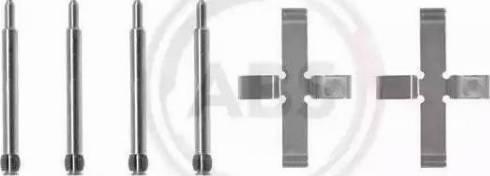 A.B.S. 0980Q - Piederumu komplekts, Disku bremžu uzlikas interparts.lv