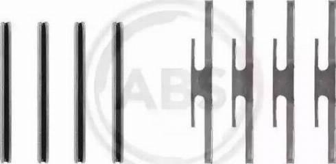 A.B.S. 0975Q - Piederumu komplekts, Disku bremžu uzlikas interparts.lv
