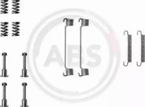 A.B.S. 0690Q - Piederumu komplekts, Stāvbremzes mehānisma bremžu loks interparts.lv