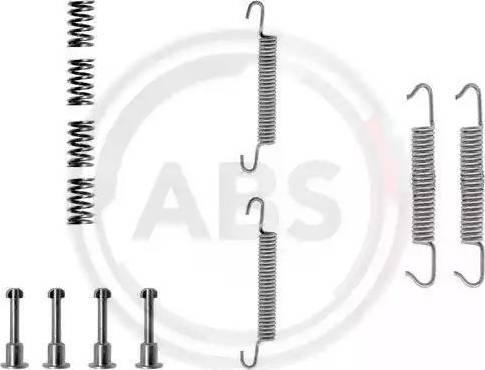 A.B.S. 0621Q - Piederumu komplekts, Stāvbremzes mehānisma bremžu loks interparts.lv