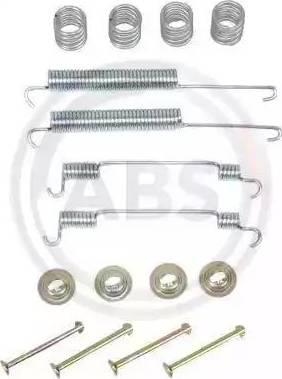 A.B.S. 0806Q - Piederumu komplekts, Bremžu loki interparts.lv