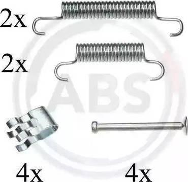 A.B.S. 0839Q - Piederumu komplekts, Stāvbremzes mehānisma bremžu loks interparts.lv