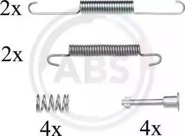 A.B.S. 0826Q - Piederumu komplekts, Stāvbremzes mehānisma bremžu loks interparts.lv