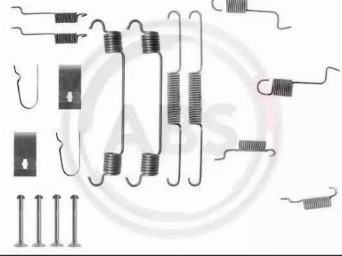 A.B.S. 0742Q - Piederumu komplekts, Bremžu loki interparts.lv