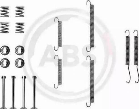 A.B.S. 0713Q - Piederumu komplekts, Stāvbremzes mehānisma bremžu loks interparts.lv
