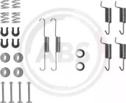 A.B.S. 0788Q - Piederumu komplekts, Stāvbremzes mehānisma bremžu loks interparts.lv
