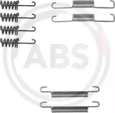 A.B.S. 0774Q - Piederumu komplekts, Stāvbremzes mehānisma bremžu loks interparts.lv