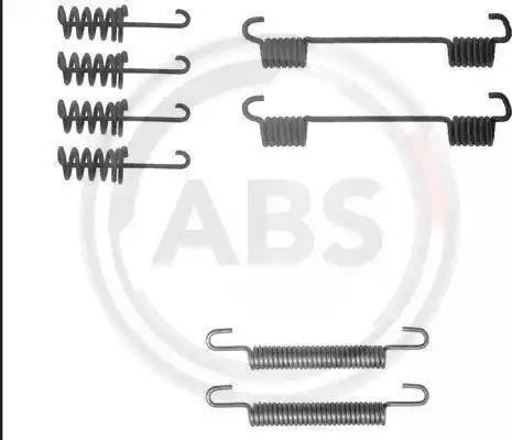 A.B.S. 0775Q - Piederumu komplekts, Stāvbremzes mehānisma bremžu loks interparts.lv