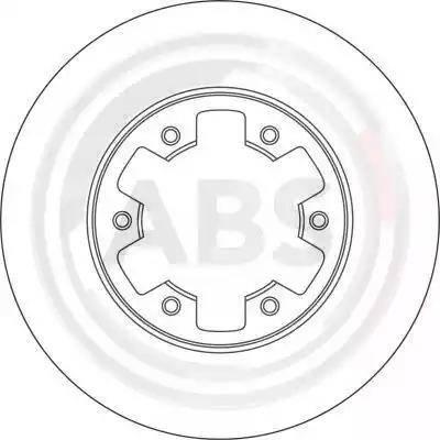 A.B.S. 15994 - Bremžu diski interparts.lv