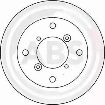 A.B.S. 15992 - Bremžu diski interparts.lv