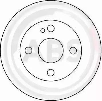 A.B.S. 15946 - Bremžu diski interparts.lv