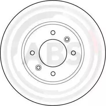 A.B.S. 15959 - Bremžu diski interparts.lv