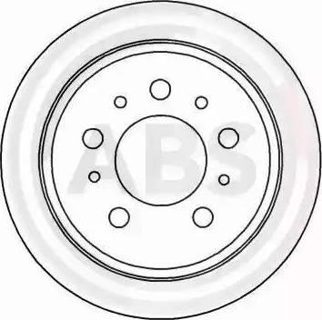 A.B.S. 15955 - Bremžu diski interparts.lv