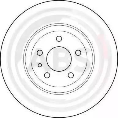 A.B.S. 15953 - Bremžu diski interparts.lv