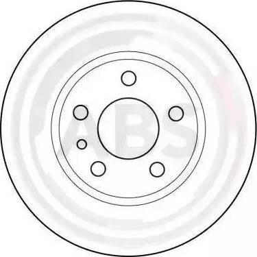 A.B.S. 15952 - Bremžu diski interparts.lv