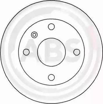 A.B.S. 15965 - Bremžu diski interparts.lv