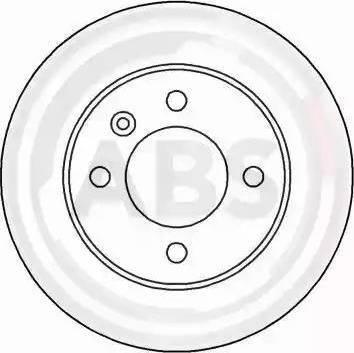 A.B.S. 15961 - Bremžu diski interparts.lv
