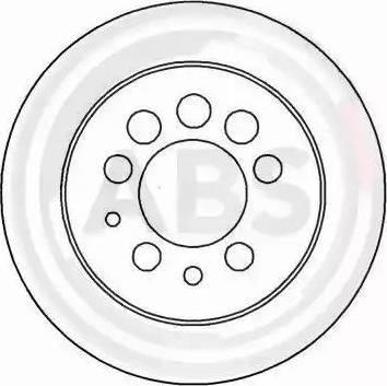 A.B.S. 15917 - Bremžu diski interparts.lv