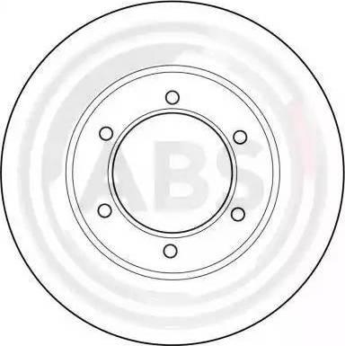 A.B.S. 15980 - Bremžu diski interparts.lv