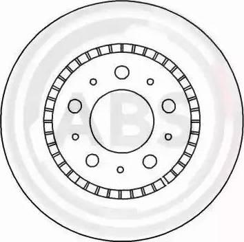 A.B.S. 15932 - Bremžu diski interparts.lv