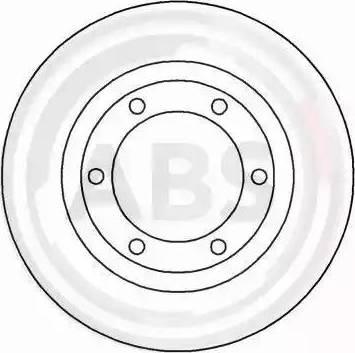 A.B.S. 15411 - Bremžu diski interparts.lv