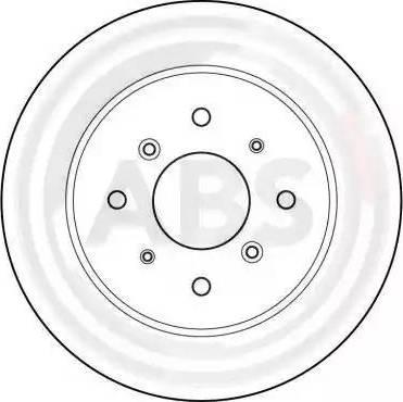 A.B.S. 15599 - Bremžu diski interparts.lv