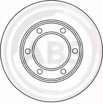 A.B.S. 15575 - Bremžu diski interparts.lv