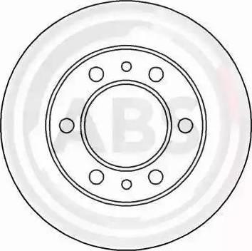 A.B.S. 15654 - Bremžu diski interparts.lv