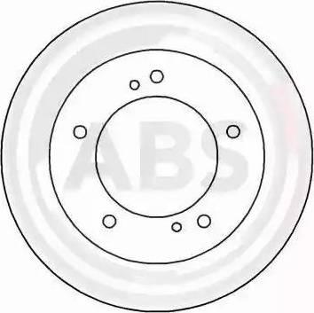 A.B.S. 15657 - Bremžu diski interparts.lv