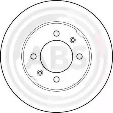A.B.S. 15609 - Bremžu diski interparts.lv
