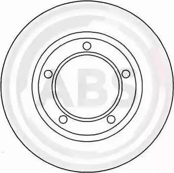 A.B.S. 15615 - Bremžu diski interparts.lv