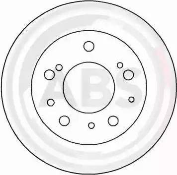 A.B.S. 15045 - Bremžu diski interparts.lv