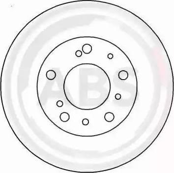 A.B.S. 15046 - Bremžu diski interparts.lv