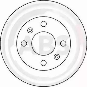 A.B.S. 15116 - Bremžu diski interparts.lv