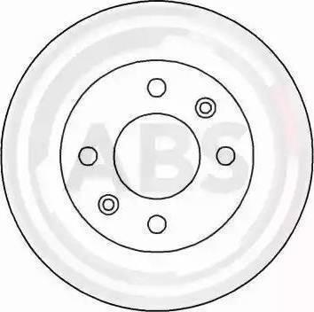A.B.S. 15112 - Bremžu diski interparts.lv