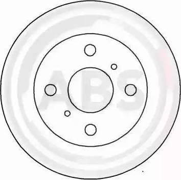 A.B.S. 15895 - Bremžu diski interparts.lv
