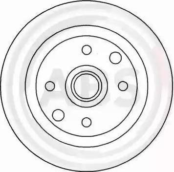 A.B.S. 15893 - Bremžu diski interparts.lv