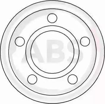 A.B.S. 15892 - Bremžu diski interparts.lv