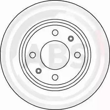 A.B.S. 15841 - Bremžu diski interparts.lv
