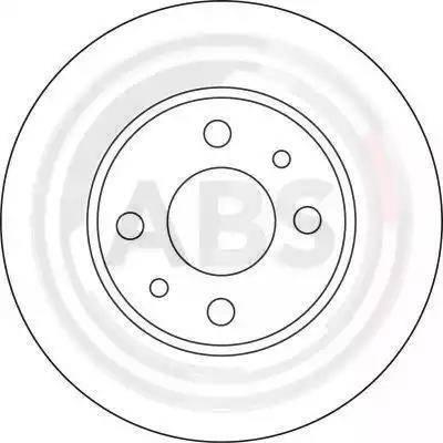 A.B.S. 15857 - Bremžu diski interparts.lv
