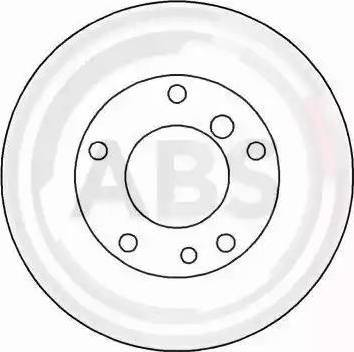 A.B.S. 15867 - Bremžu diski interparts.lv