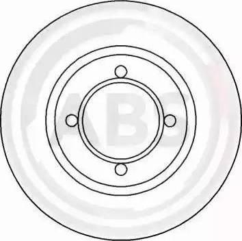A.B.S. 15803 - Bremžu diski interparts.lv
