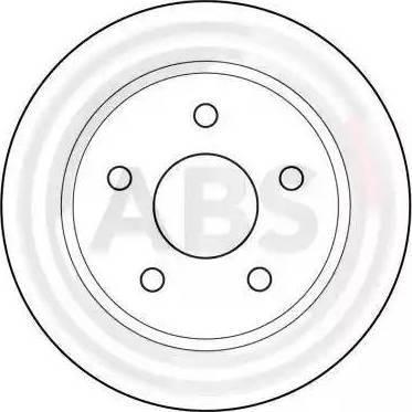 A.B.S. 15802 - Bremžu diski interparts.lv