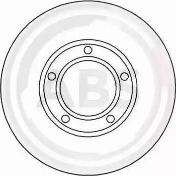 A.B.S. 15814 - Bremžu diski interparts.lv