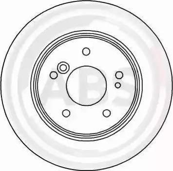 A.B.S. 15815 - Bremžu diski interparts.lv