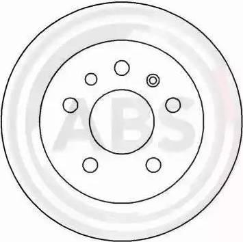 A.B.S. 15818 - Bremžu diski interparts.lv