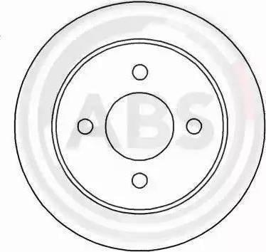 A.B.S. 16375 - Bremžu diski interparts.lv